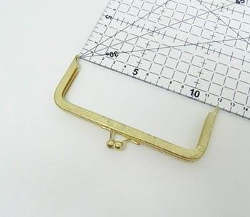 Fecho da Vovó para Bolsa 12cm Dourado