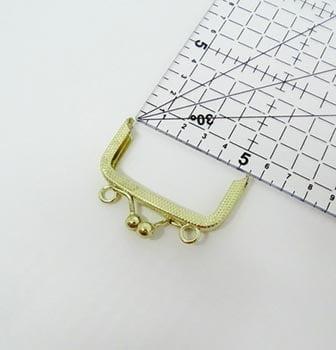 Fecho da Vovó para Porta Moedas com Alça 5,5cm Dourado
