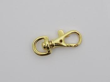 Mosquetão 1cm Ouro