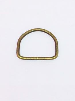 Passador de Alça Meia Argola 4cm Ouro Velho