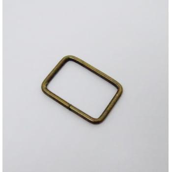 Passador de Alça Quadrado Grosso 3cm Ouro Velho