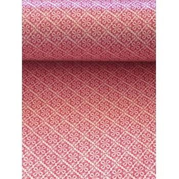 Cetim Dublado Arabesco Pink