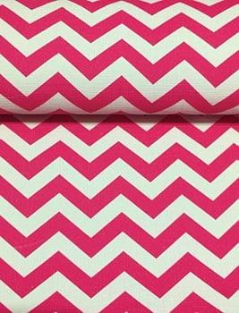 PVC Chevron Pink