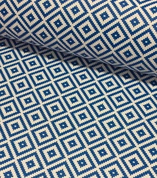 PVC Étnico Azul Royal