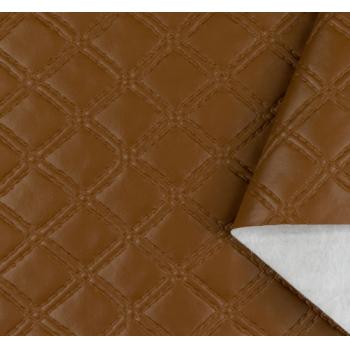 PVC Matelassado Duplo Chanel Caramelo