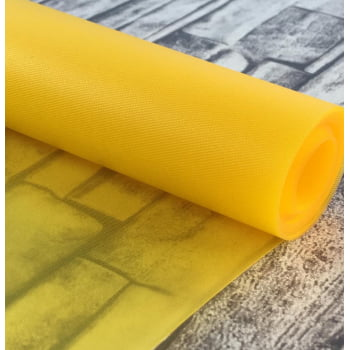 Vinil Translucido Amarelo 0.30mm