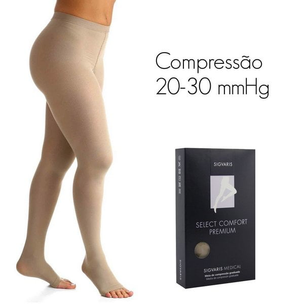 6bcd63bf4 MEIA SELECT COMFORT PREMIUM 20-30 mmHg MEIA CALÇA