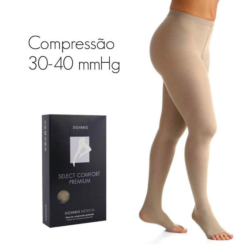 MEIA SELECT COMFORT PREMIUM 30-40 mmHg MEIA CALÇA