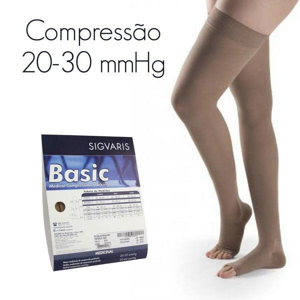 MEIA SIGVARIS BASIC 20-30 mmHg MEIA COXA