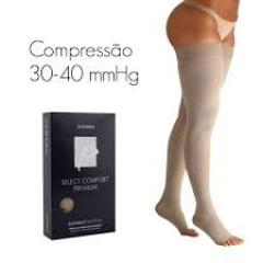 MEIA SIGVARIS 863 SELECT COMFORT PREMIUM 30-40 mmHg MEIA COXA