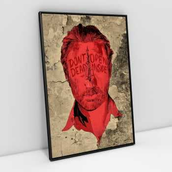 Quadro The Walking Dead - Don´t Open, Dead Inside