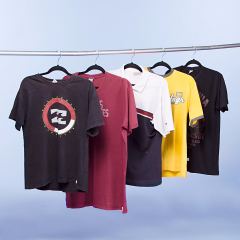 Fardo para brechó Camisetas masculinas 100 peças