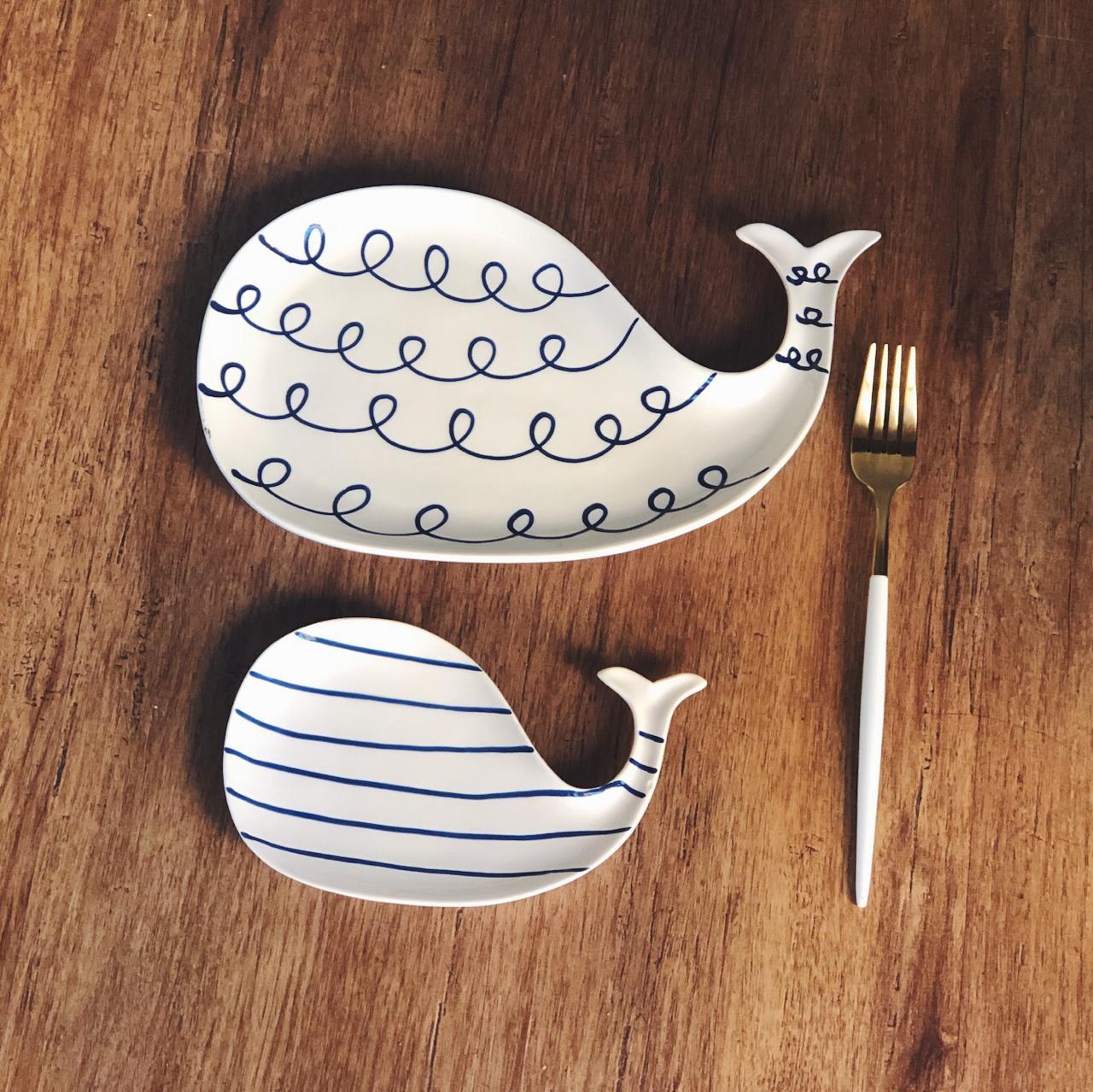 prato baleia cermica