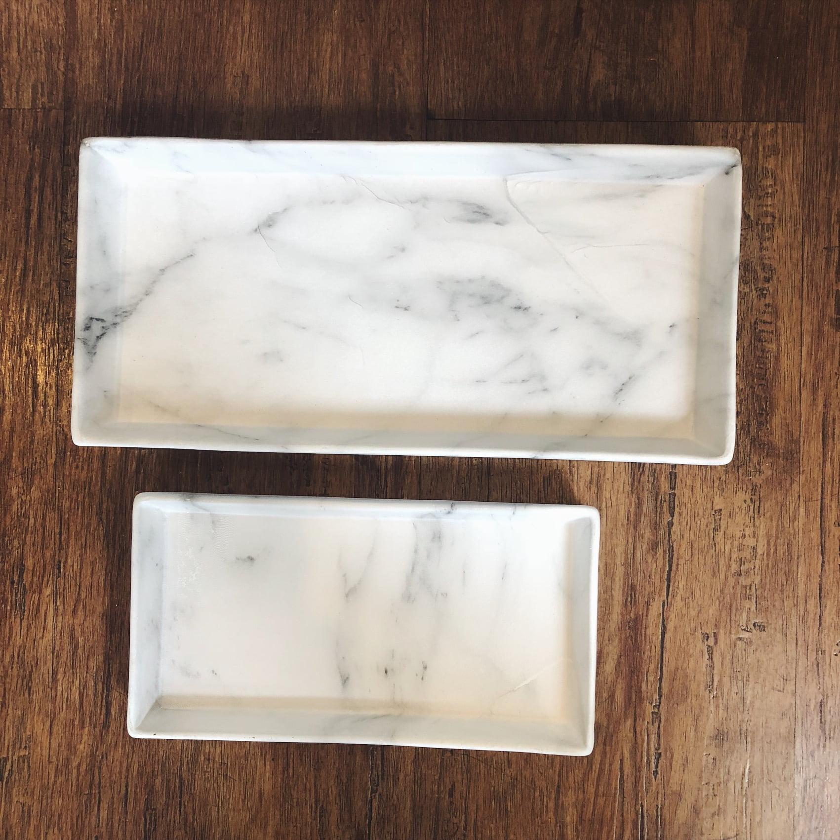 bandeja marmorizada