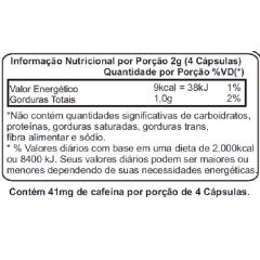 Guaraná Com Açaí 500mg - 60 Cápsulas