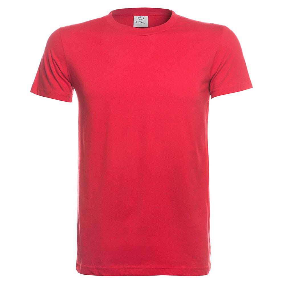 Camiseta basica vermelho