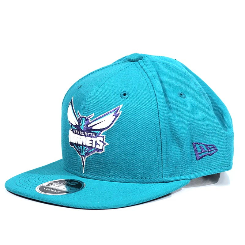59969b2af7440 Boné Charlotte Hornets New Era Snapback Azul Claro- Boneja