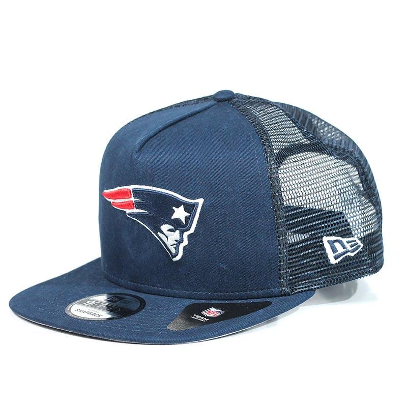 Boné New England Patriots New Era Snapback Azul Marinho