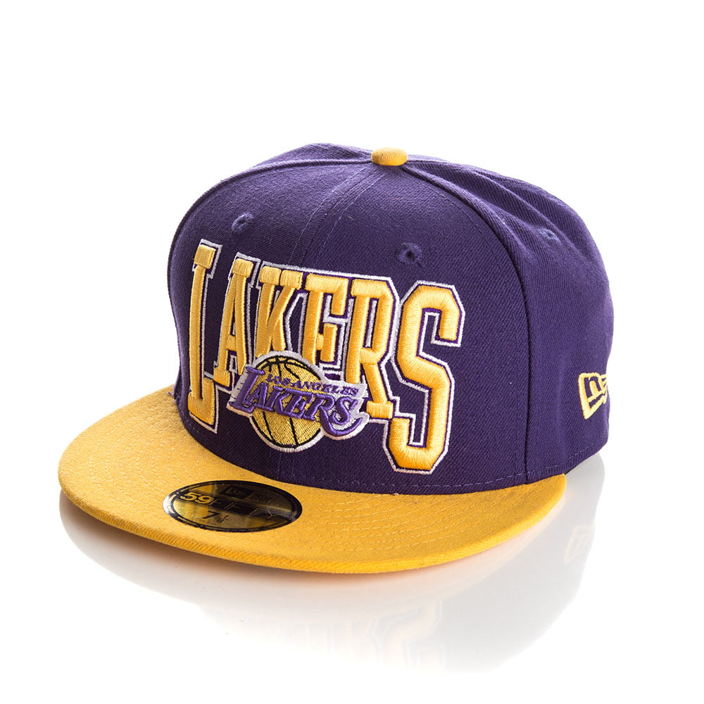 Bone New Era 59Fifty Los Angeles Lakers 2tone