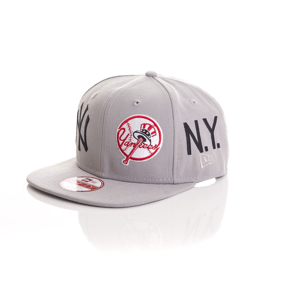 Bone New Era 9Fifty New York Yankees logo team 6