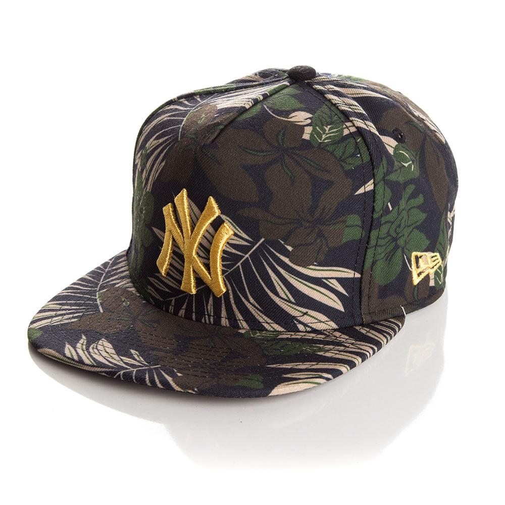 Bone New Era 9Fifty New York Yankees foliage strapback
