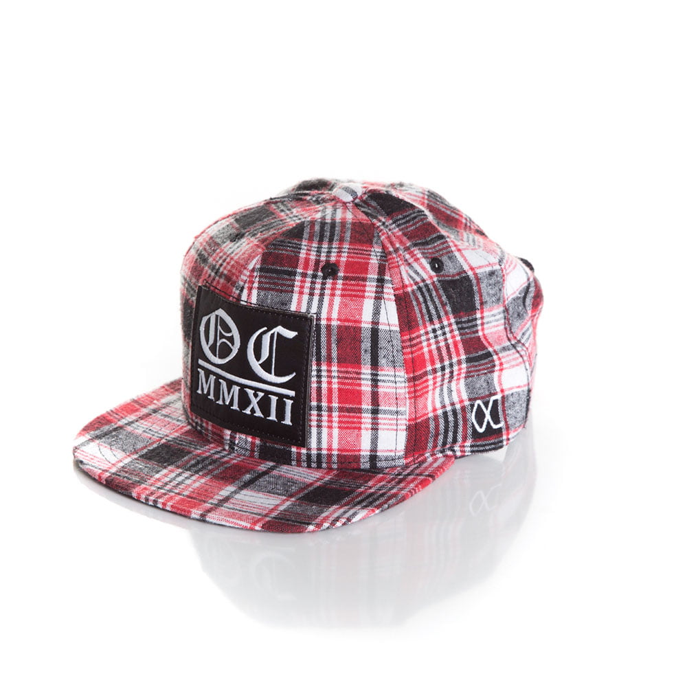 Bone Other Culture xadrez snapback
