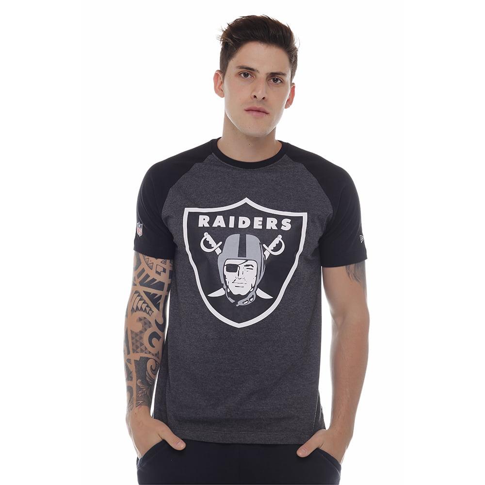 camiseta new era oakland raiders nfl preto h015 9619aaaf2ac