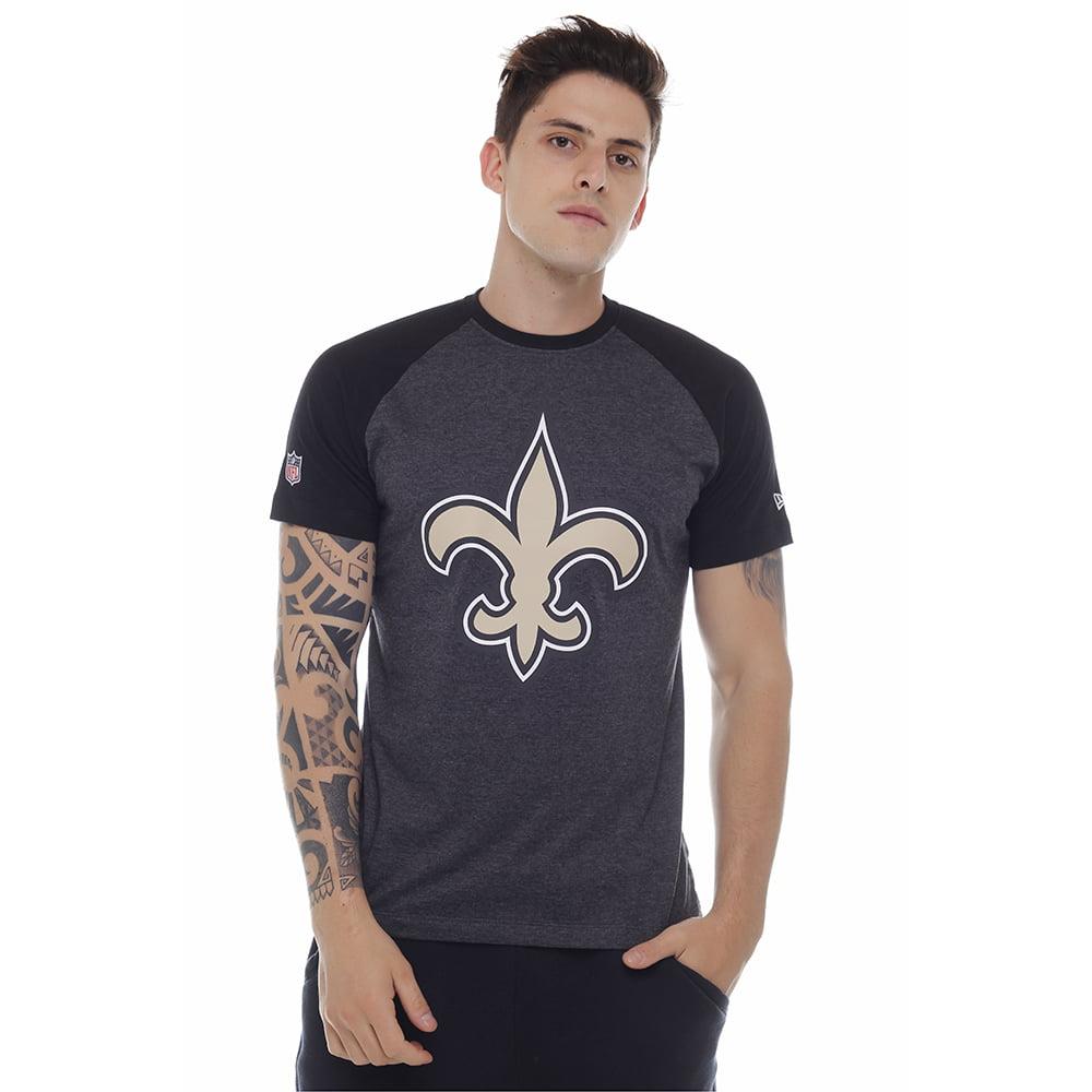 32163a42f camiseta new era new orleans saints preta nfl