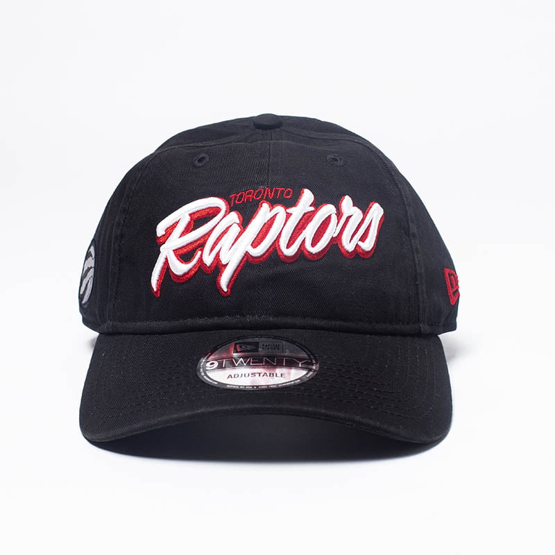 Bone Toronto Raptors New Era 9twenty strapback