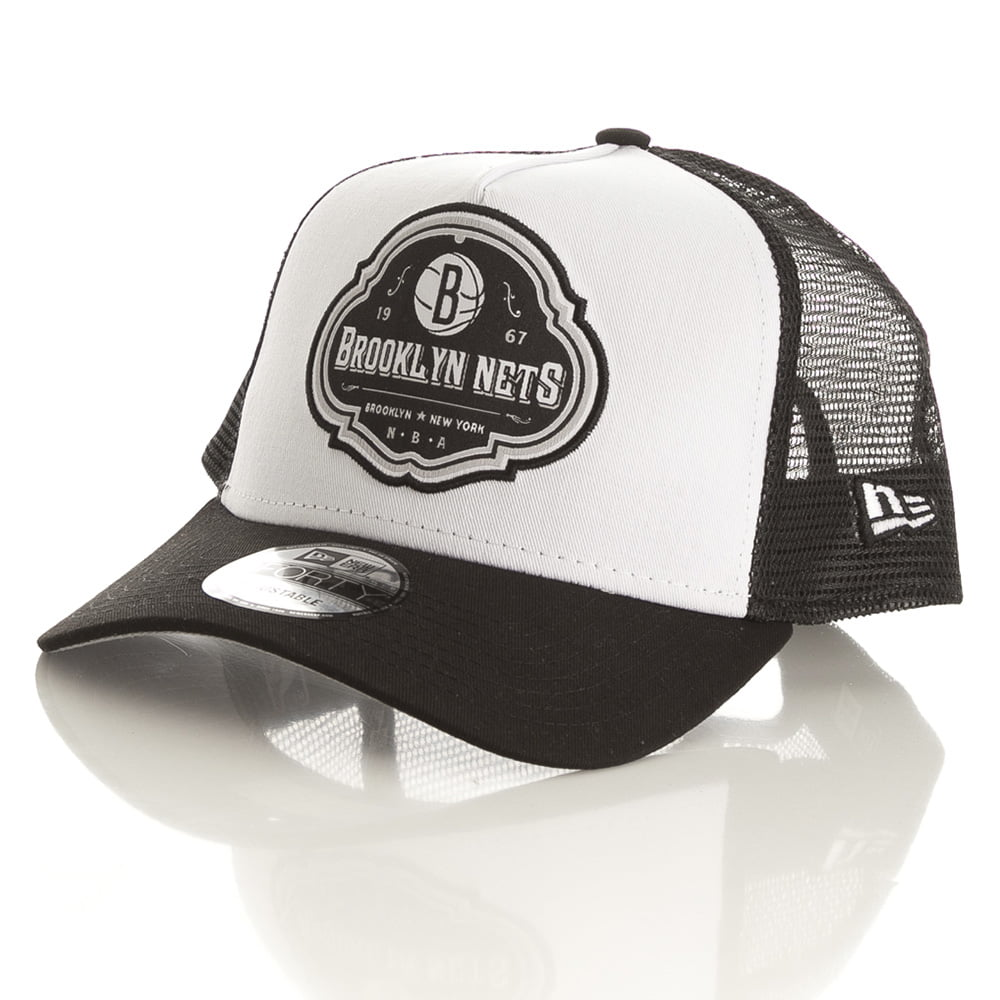 Bone Brooklyn Nets New Era 9forty trucker