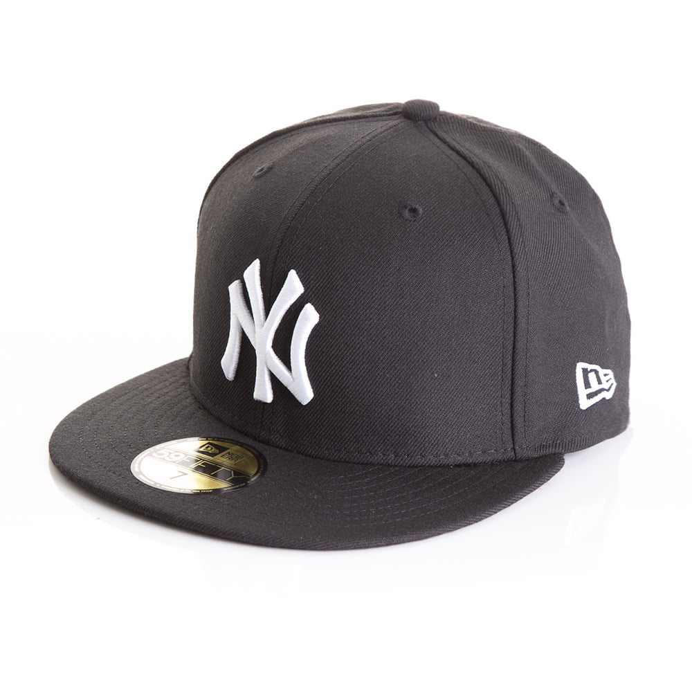 2cf26bdc3eb8a Bone New Era 59Fifty New York Yankees preto