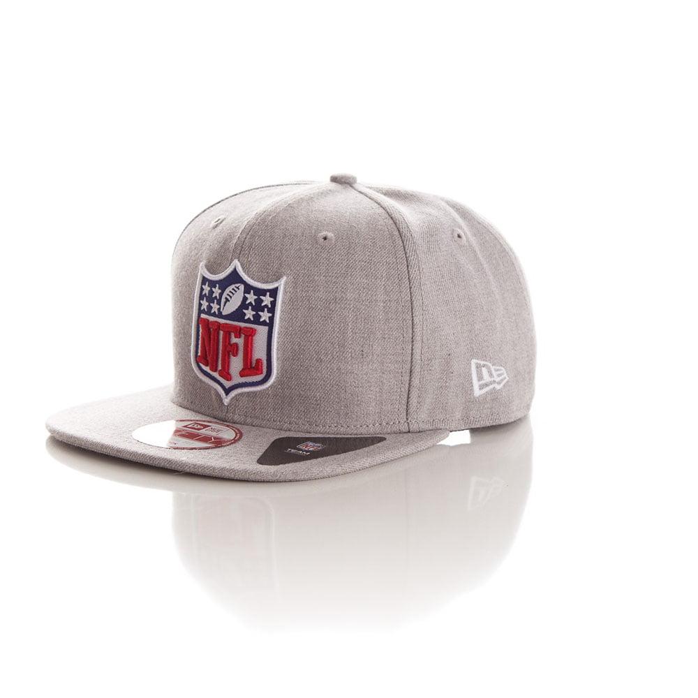 Bone New Era 9fifty NFL logo cinza