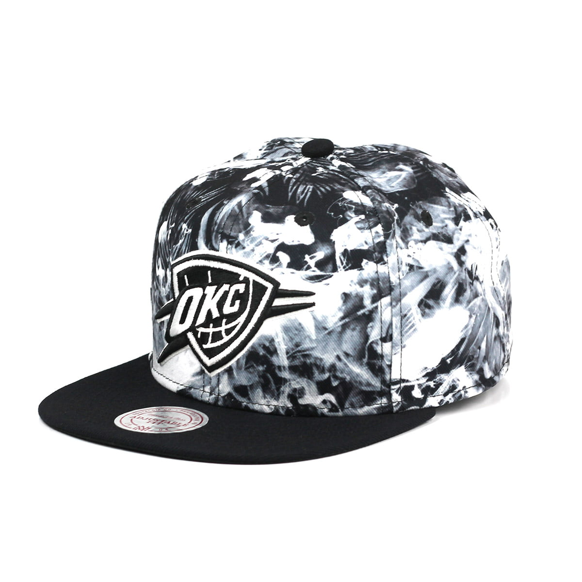 Bone Oklahoma City Thunder Mitchell and Ness smoke snapback