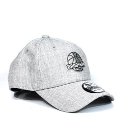 Boné Brooklyn Nets New Era Cinza