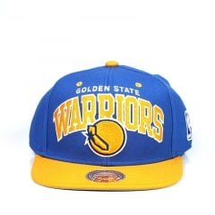 Boné Golden State Warriors Mitchell And Ness Azul