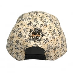 Boné New Era 9Forty aba Curva birds creme