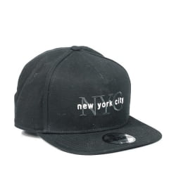 Boné New York City New Era Preto
