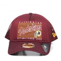 Boné Washington Redskins New Era A-Frame Snapback Vermelho