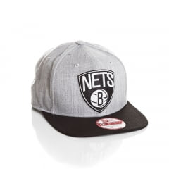 Bone New Era 9Fifty Brooklyn Nets original fit
