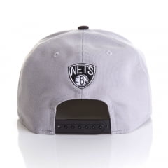Bone New Era 9Fifty Brooklyn Nets dois tons otc