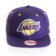Bone New Era 9Fifty Los Angeles Lakers roxo otc