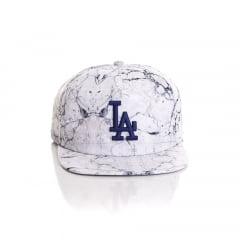 Bone New Era 9Fifty Los Angeles Dodgers old golfer