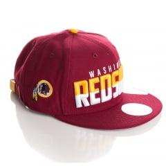 Bone New Era 9Fifty Washington Redskins diving line strapback