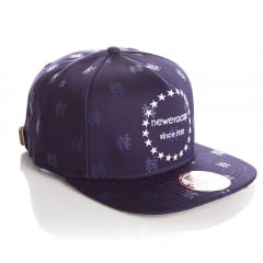 Bone New Era 9Fifty monogram strapback