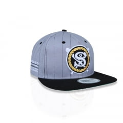 Bone New Era 9fifty chance the rapper chicago white sox cinza