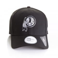 Bone New Era 9forty Washington Redskins black