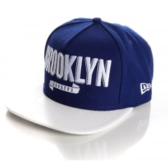 Bone New Era Brooklyn Dodgers xxletter royal strapback