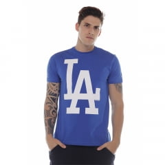 camiseta new era los angeles dodgers azul h0362