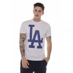 camiseta new era los angeles dodgers branco h0361
