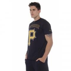 camiseta new era mlb pittsburgh pirates preto